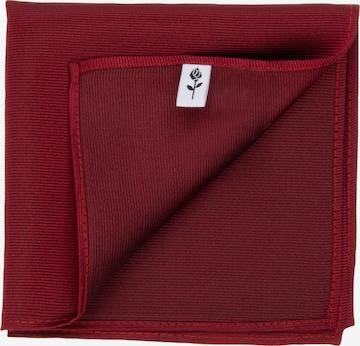 Pochette ' Schwarze Rose ' SEIDENSTICKER en rouge