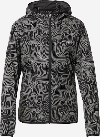 Sportinė striukė iš Superdry , spalva - pilka / juoda, Prekių apžvalga