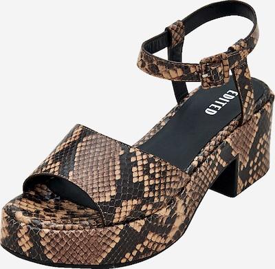 Sandale 'Mariette' EDITED pe maro, Vizualizare produs
