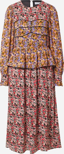 Hofmann Copenhagen Vestido 'Isabella' en dorado / lila / rosa / rojo / negro, Vista del producto