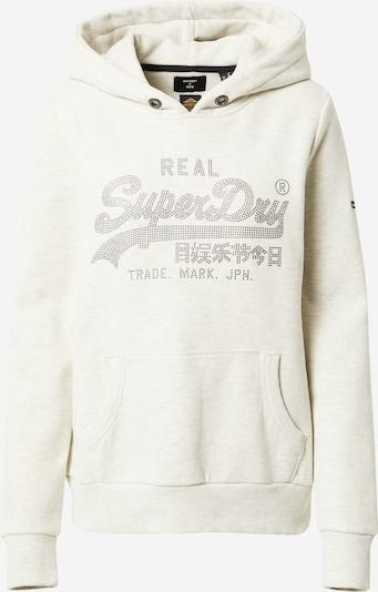 Superdry Sweatshirt in Beige / Silver, Item view