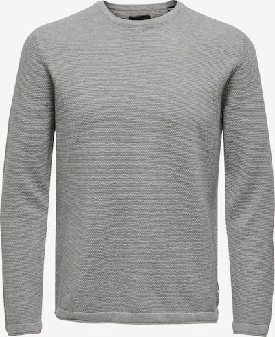 Only & Sons Pullover 'PANTER' in graumeliert, Produktansicht