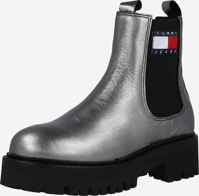 Tommy Jeans Chelsea Boots in Navy / Silver grey / Fire red / Black / White, Item view