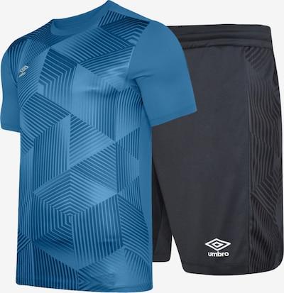 UMBRO Trainingsanzug in azur / taubenblau / anthrazit, Produktansicht