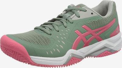ASICS Sportschuh 'Gel-Challenger 12 Clay' in grau / grün / rosa, Produktansicht