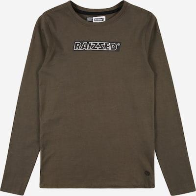 Raizzed Sweater majica 'Jakarta' u kaki / crna / bijela, Pregled proizvoda