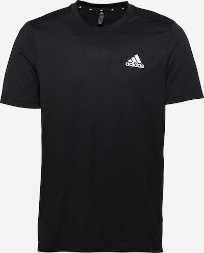 Tricou funcțional ADIDAS PERFORMANCE pe negru / alb, Vizualizare produs