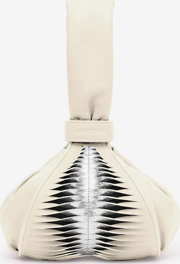 Gretchen Abendtasche 'Tango Pouch Ray' in beige / silber, Produktansicht