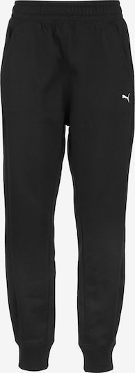 PUMA Sports trousers in Black / White, Item view