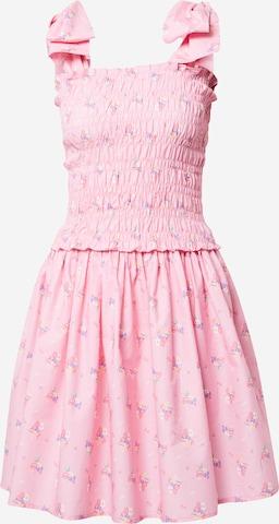 Crās Лятна рокла 'Fleurcras' в розово