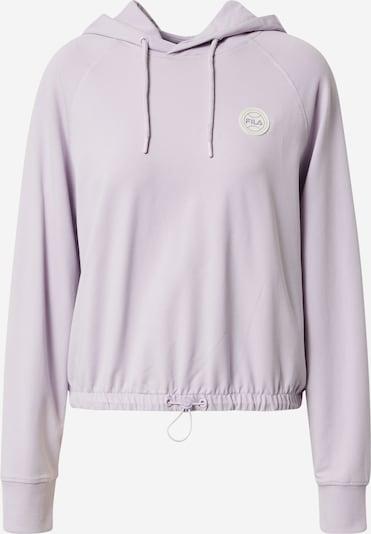 FILA Μπλούζα φούτερ 'Amara' σε ανοικτό λιλά / λευκό, Άποψη προϊόντος