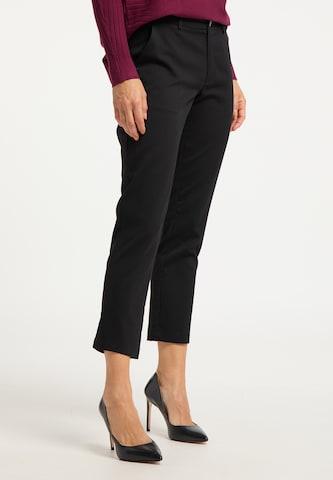 usha BLACK LABEL Παντελόνι σε μαύρο