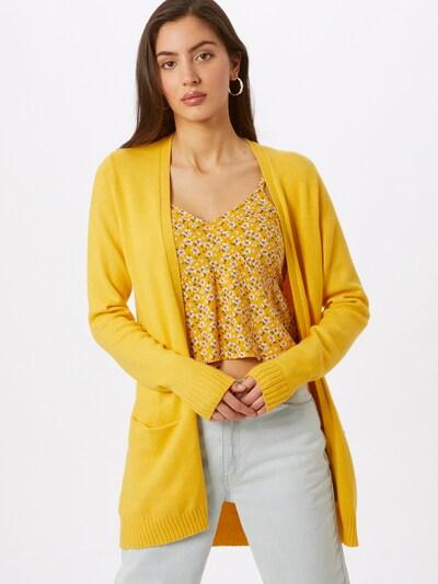 VILA Плетена жилетка в жълто, Преглед на модела