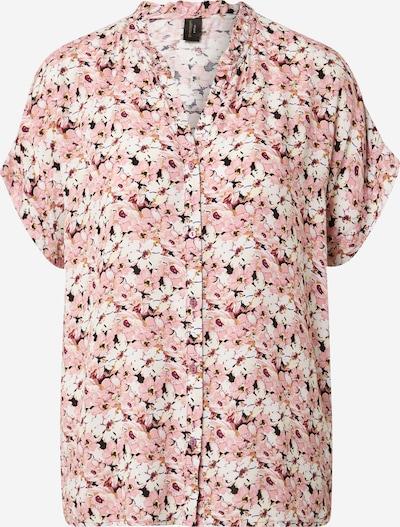 Soyaconcept Blusa 'OPHIRA' en baya / rosa / rosa pastel / negro / blanco, Vista del producto