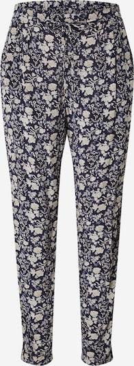 Klostuotos kelnės 'FLYNN' iš Maison 123, spalva – glaisto spalva / zomšos spalva / tamsiai mėlyna jūros spalva, Prekių apžvalga