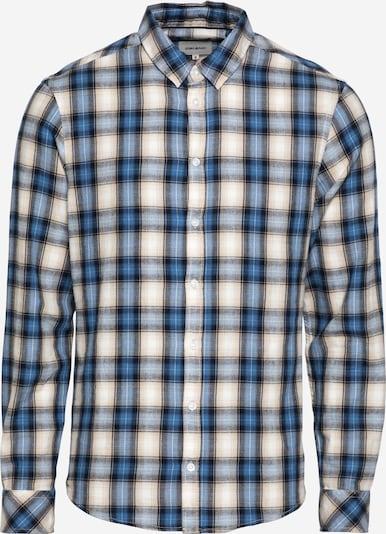BLEND Overhemd in de kleur Beige / Blauw / Hemelsblauw / Poederroze / Zwart, Productweergave