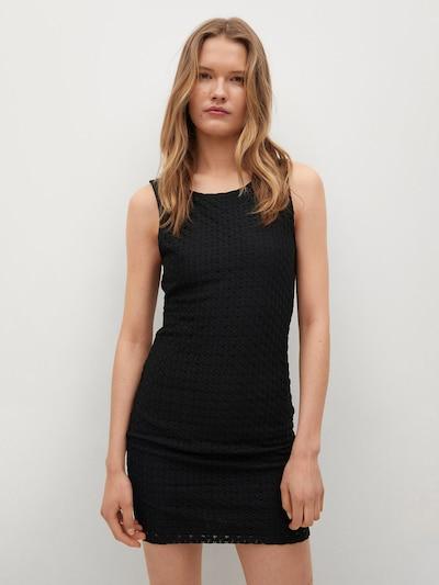 MANGO Kleid 'Olivia' in schwarz, Modelansicht