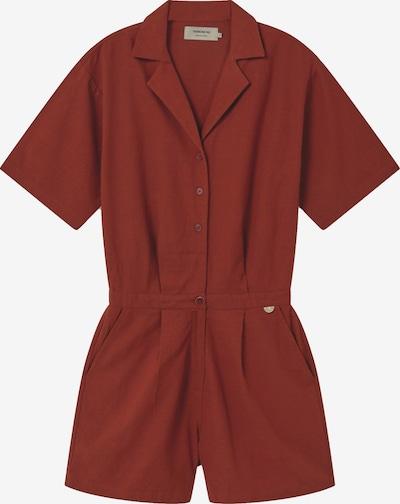 Thinking MU Kleid ' Jade Jumpsuit ' in dunkelorange, Produktansicht