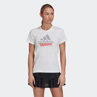 ADIDAS PERFORMANCE Functioneel shirt in de kleur Wit: Vooraanzicht