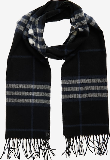 Superdry Sjaal in de kleur Zwart / Wit, Productweergave
