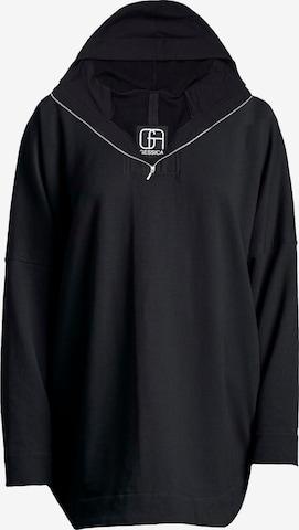 Gessica Sweatshirt in Schwarz