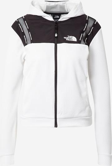 THE NORTH FACE Sportjacke in schwarz / weiß, Produktansicht