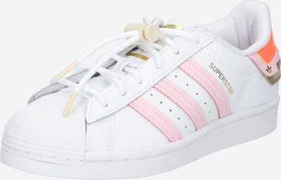 ADIDAS ORIGINALS Sneakers laag 'Superstar' in de kleur Goud / Sinaasappel / Pastelroze / Wit, Productweergave