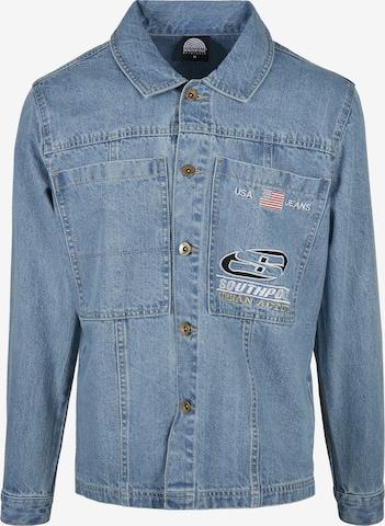 Camicia di SOUTHPOLE in blu