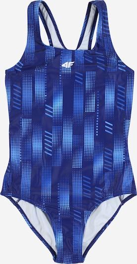 4F Sportieve badmode in de kleur Navy / Kobaltblauw, Productweergave
