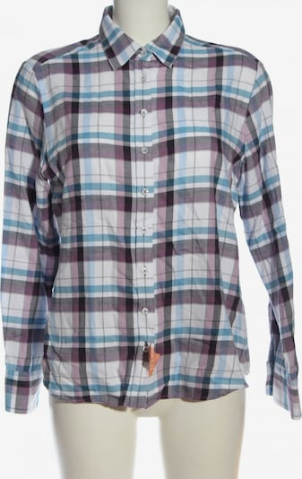 ETERNA Flanellhemd in L in blau / lila / weiß, Produktansicht