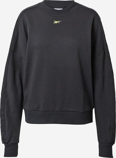 Reebok Classic Sweatshirt in gelb / schwarz, Produktansicht