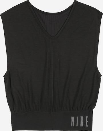 NIKE Sports top in Black