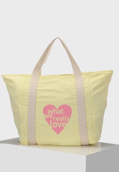 Crickit Strandshopper 'Cordoba Shopper mit Herz' in gelb, Produktansicht