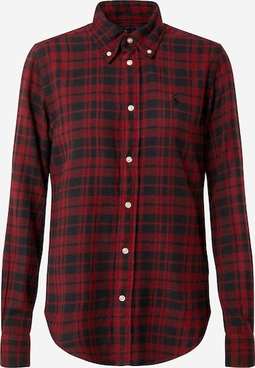 POLO RALPH LAUREN Bluse 'Georgia' i rød / sort, Produktvisning