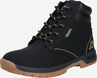 Auliniai batai su kulniuku 'CAMMY FUR' iš KAPPA , spalva - žaliosios citrinos spalva / juoda, Prekių apžvalga