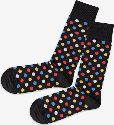 DillySocks Socks in Light blue / Yellow / Red / Black, Item view