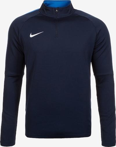 NIKE T-Shirt fonctionnel 'Dry Academy 18 Drill' en bleu marine / blanc, Vue avec produit