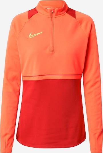 NIKE Athletic Sweatshirt 'Academy' in Orange / Red, Item view