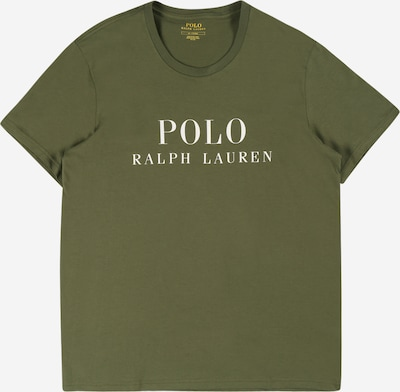 Polo Ralph Lauren Shirt in de kleur Olijfgroen / Wit, Productweergave