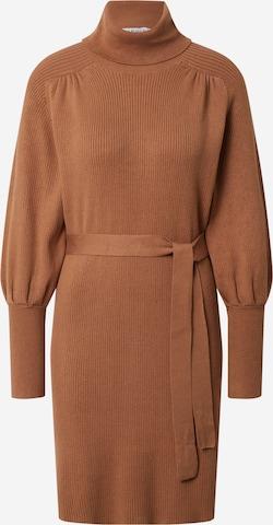 EDITED Knit dress 'Malene' in Brown