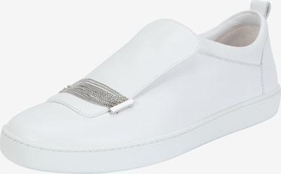 Ekonika Slipons mit schicker Lasche in weiß, Produktansicht
