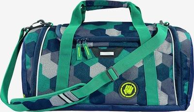 Coocazoo Sporttasche 'SporterPorter' in navy / grau / grün / mint, Produktansicht