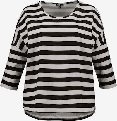 Ulla Popken Bluse in schwarz / weiß, Produktansicht
