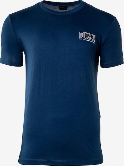 DIESEL Shirt in de kleur Donkerblauw / Wit, Productweergave