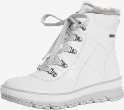 JANA Lace-Up Ankle Boots in White, Item view