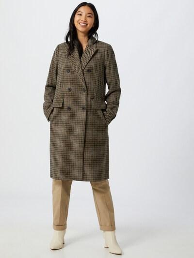 TOMMY HILFIGER Mantel in beige / braun / schwarz, Modelansicht