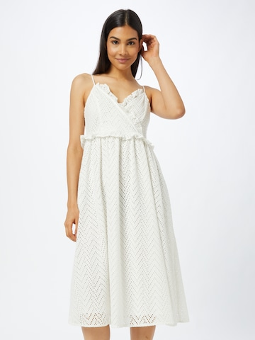SELECTED FEMME Cocktail dress 'JOSA' in White