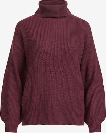 VILA Sweater in Purple
