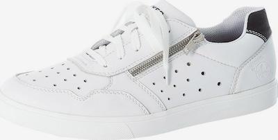 RIEKER Baskets basses en noir / blanc, Vue avec produit