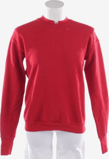 HELMUT LANG Sweatshirt in XS in rot, Produktansicht